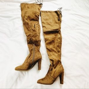 NIB \\ brown over the knee boots \\ Size 7